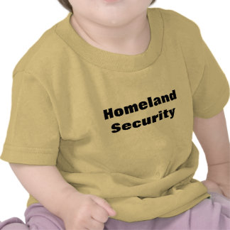 Camiseta de la seguridad de patria