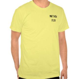 Camiseta de la semilla de mostaza