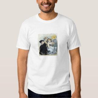 Camiseta de la separación de iglesia y estada camisas