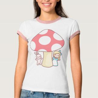 Camiseta de la seta de Alicia