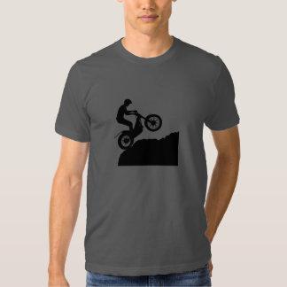 Camiseta de la silueta del jinete de los ensayos remera