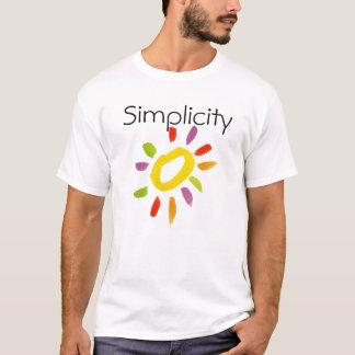 Camiseta de la simplicidad