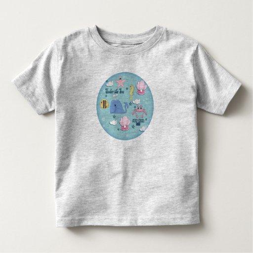 Camiseta de la sirena de los chicas