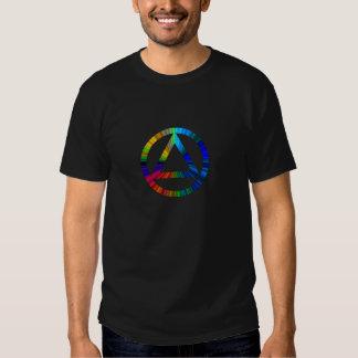 Camiseta de la sobriedad de la recuperación del polera