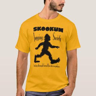 Camiseta de la sociedad de Scookum que activa