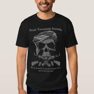 """Camiseta de la """"sociedad muerta de los playera"""