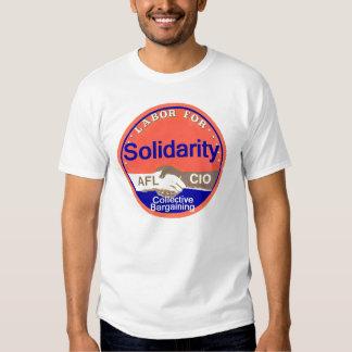 Camiseta de la SOLIDARIDAD Playera