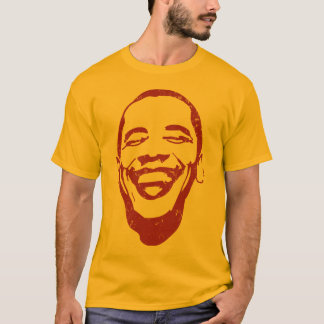 "Camiseta de la ""sonrisa infecciosa"" de Obama"