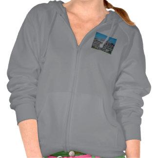 Camiseta de la sudadera con capucha - acrópolis, G