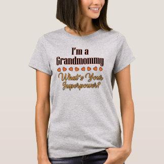 Camiseta de la superpotencia de Grandmommy