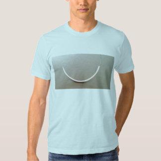 Camiseta de la sutura poleras