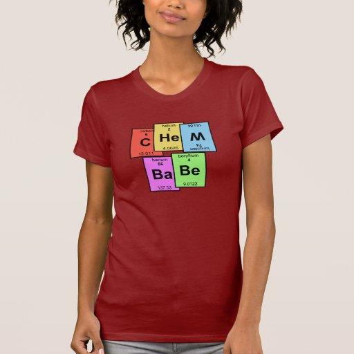 Camiseta de la tabla periódica del bebé de Chem