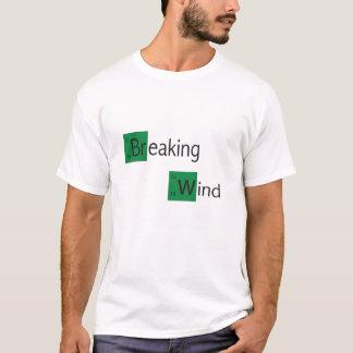camiseta de la tabla periódica del viento de