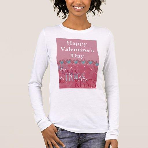 Camiseta de la tarjeta del día de San Valentín -