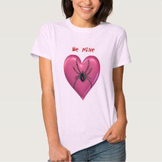 Camiseta de la tarjeta del día de San Valentín del Polera