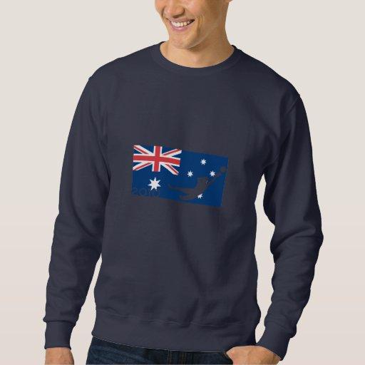 Camiseta de la taza de la bandera de Australia Suéter
