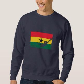 Camiseta de la taza de la bandera de Ghana