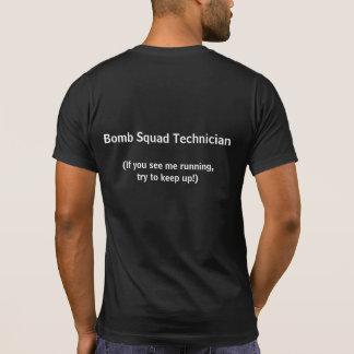 Camiseta de la tecnología del escuadrón de la playeras