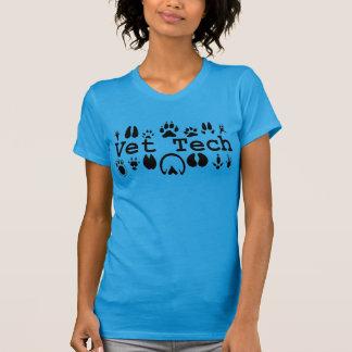 Camiseta de la tecnología del veterinario
