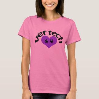 Camiseta de la tecnología del veterinario del