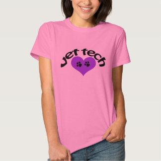 Camiseta de la tecnología del veterinario del poleras