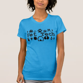 Camiseta de la tecnología del veterinario remera