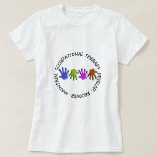 Camiseta de la terapia profesional playeras