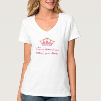 Camiseta de la tiara - nunca váyase a casa sin él