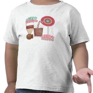 Camiseta de la tienda del caramelo