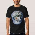 Camiseta de la tierra del planeta playera