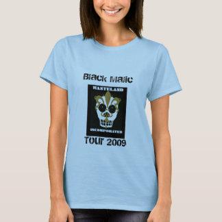 Camiseta de la tierra, Majic negro, viaje 2009