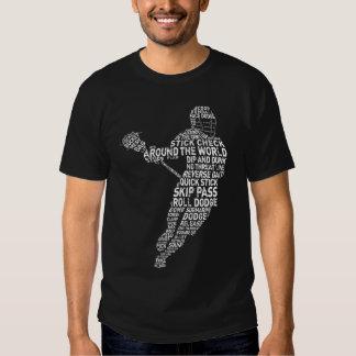 Camiseta de la tipografía de LaCrosse de la Remera