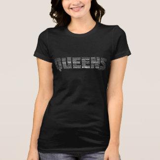 Camiseta de la tipografía del Queens Nueva York Polera
