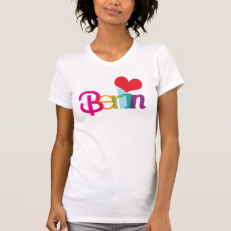 Camiseta de la tipografía del souvernir de Berlín