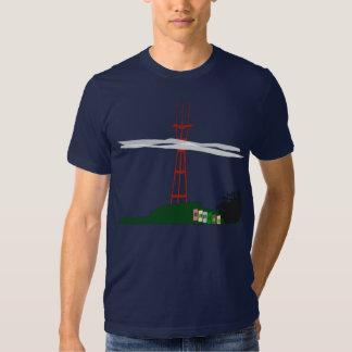 Camiseta de la torre de Sutro Remeras