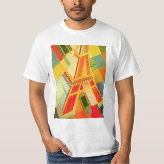 Camiseta de la torre Eiffel de Roberto Delaunay Playeras