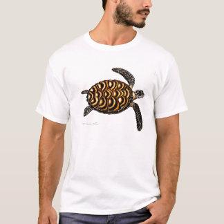 Camiseta de la tortuga de mar de Hawksbill