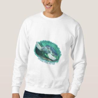 Camiseta de la tortuga de mar verde jersey