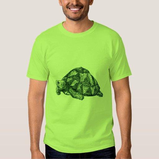 Camiseta de la tortuga verde remera