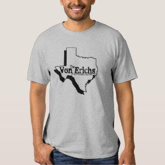Camiseta de la tradición de Tejas Remeras