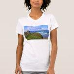 Camiseta de la trayectoria del océano de los