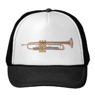 Camiseta de la trompeta gorros