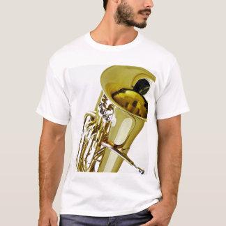 Camiseta de la tuba lista para modificar para