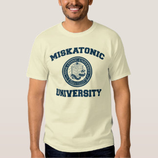 Camiseta de la universidad de Miskatonic Playeras
