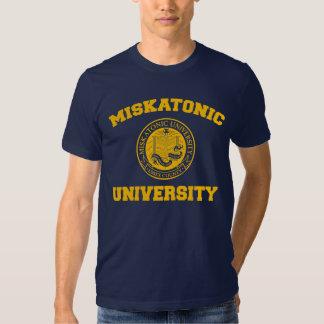 Camiseta de la universidad de Miskatonic Playeras