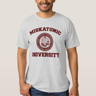 Camiseta de la universidad de Miskatonic Polera