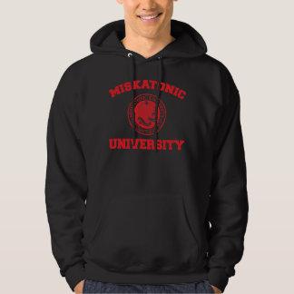 Camiseta de la universidad de Miskatonic Pulóver Con Capucha