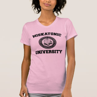 Camiseta de la universidad de Miskatonic Remeras