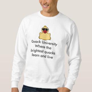 Camiseta de la universidad del curandero pulover sudadera