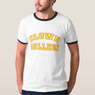 Camiseta de la universidad del payaso poleras